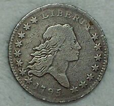 1795 Half Dollar *SILVER* Fine Detailing Variety O-110a *RARE* R.3 Authentic 50C