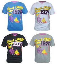 Viscose Crew Neck Stretch T-Shirts for Men