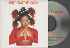 Janet Jackson Together Again CD SINGLE france french card sleeve