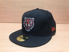 New Era 59FIFTY Detroit Tigers Snapback Cap Hat Black Cooperstown Collection NEW