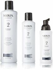 Nioxin System 2 Starter Kit Cleanser, Scalp Therapy & Scalp Treatment 1 set, New