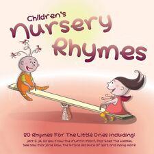 CD CHILDREN'S NURSERY RHYMES JACK & JILL HUMPTY DUMPTY OLD KING COLE SEE SAW etc