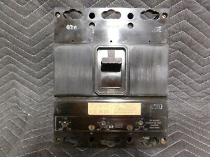 1 I-T-E ITE ET-5629 ET5629 J FRAME CIRCUIT BREAKER 225 AMP 3P 600V W/ 125A TRIP
