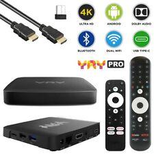 VU+ Plus YAY GO PRO Android 10 UHD 4K Dual-WiFi LAN Chromecast TV IP-Receiver