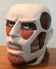 Attack on Titan Molded Titan Head Ceramic Mug Japanese Anime GC