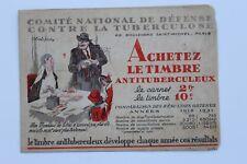 30694 20 Vignetten Frankreich Komitee gegen Tuberkolose 1939 contre TUBERCULOSE