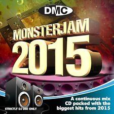 DMC Monsterjam 2015 megamix dj double CD 82 pistes mixte