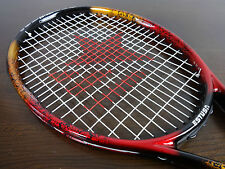 "Tennis Racket Estusa Sharp 25 Graphite Kinetic Stabiliser widebody 27"" length"