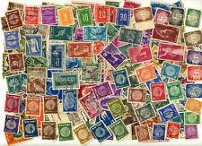 ISRAEL LOT DE 193 TIMBRES OBLITERES années 1950/60
