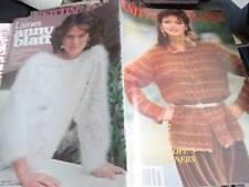 Knitting Elegance Anny Blatt Knitting Book #3- Winter 1982-32 Men/Women Styles A
