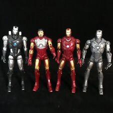 """Marvel Legends Avengers 6"""" Action Figures 4 x Iron Man Comic Book toy bundle"""