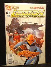 Legion Of Super-Heroes #1 #2 #3 #4 #5 New 52 Dc Comics 2011-12 Lot of 5