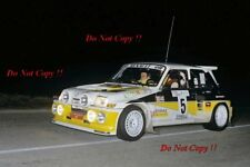 Carlos Sainz Renault 5 maxi Turbo Rally Costa Brava 1986 fotografía 1
