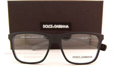 Brand New Dolce & Gabbana Eyeglass Frames DG 5016 2616 Black Rubber Men SZ 54