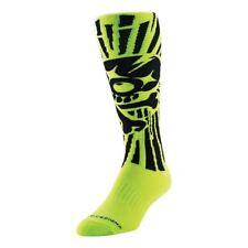 2017 Troy Lee Designs TLD GP Motocross Socks Skully Yellow MX Enduro Off-Rd