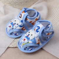 Newborn Baby Girl Boy Soft Sole Cartoon Anti-slip Casual Shoes Toddler Sandals