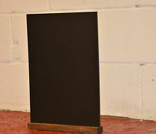 A3 Black Board With Removeable Wooden Plinth For Use With Liquid Chalk Pens