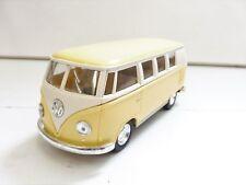 Volkswagen Classic Bus 1962 Jaune Pastel KINSMART 1/32 Diecast NEUF