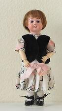 Bleuette  SFBJ 60   Ref : D  27 cm Poupée Ancienne   Reproduction  Antique  Doll