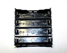 18650 Batteriehalter für Akkus ohne Kabel, Halterung für 4 x 18650 Zellen