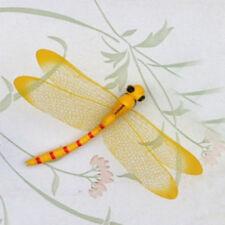 2PCS Dragonfly On Sticks Popular Art Vase Garden Lawn Art DIY Craft Decoration