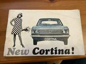 Ford Cortina mk2 owners handbook 1966 good clean item for for age