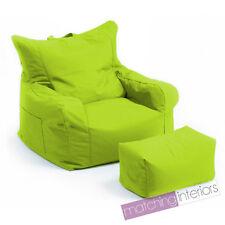 Citron Vert Budget Pouf poire chaise + ECHELLE Tabouret Gamer Jeu fauteuil