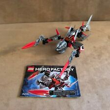 6216 Lego Complete Hero Factory Jawblade instructions red action figure