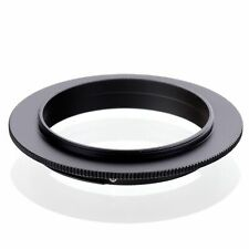 49 52 55 58 62 67 72 77mm Macro Reverse Ring Adapter For Canon EOS EF/EF-S Mount