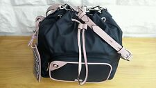 BNWT, KARL LAGERFELD LARGE K/NYLON DRAWSTRING CROSS BODY BAG.  RRP £185