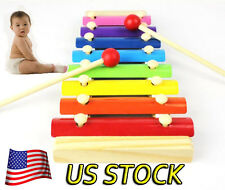 New Baby Kid music Musical Toys Xylophone Wisdom Development Wooden Instrument