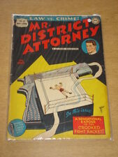 MR DISTRICT ATTORNEY #3 G+ (2.5) DC COMICS JUNE 1948 **
