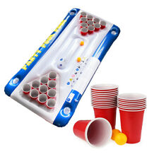 Pool Beerpong, Bierpong Luftmatratze, Schwimmender Bier Pong Tisch, Beer Pong
