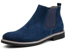 Hot Retro Mens Suede Ankle Boots Desert Pull On Casual Flat Shoes Chukka Chelsea