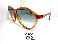 Vintage 1970s/80s VIENNA LINE Sunglasses Gradient Red Made in Austria (VIN-02)