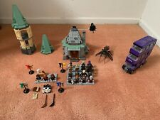 LEGO Harry Potter Hagrid's Hut, Knight Bus, And Castle Parts *Extra Minifigures*