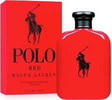 Ralph Lauren Polo Red Men 4.2oz 125mL Brand New Eau De Toilette 4.2 oz 4.2