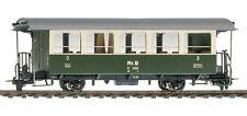 H0m RhB C 2081 Bernina-Bahn Zweiachser grün/creme Ep.II Bemo 3238111 Neu!!!