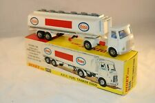 Dinky Toys 945 A.E.C. Fuel Tanker ESSO near mint in a Super box very nice combi
