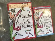 Roald Dahl Charlie and the Chocolate Factor literature book LOT 5 and Audio Tape