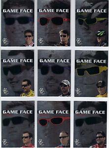 2009 Press Pass GAME FACE #GF2 Jeff Gordon BV$4! SWEET CARD!