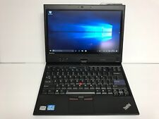 "Lenovo X220T 12.5"" Laptop Core i5-2520M 2.5Ghz 8GB 128GB SSD Win 10 Pro Tablet"
