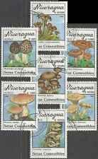 Timbres Champignons Nicaragua PA1314/20 o lot 5740