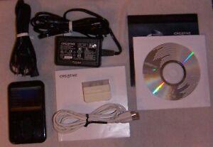 Creative ZEN Vision:M (60GB) Digital Media MP3 Player Black. Works perfect