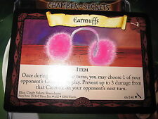 HARRY POTTER TCG GAME CARD CHAMBER OF SECRETS EARMUFFS 66/140 UNCO MINT ENGLISH