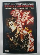 The Girl Who Played With Fire - Hardcover - Stieg Larsson - Graphic Novel