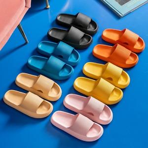 Women Thick Platform Slippers Summer Beach Eva Soft Sole Sandals Leisure Indoor