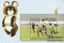 Kaap Verde Blok 2 (compleet.Kwestie.) postfris MNH 1980 Spelen Zomer 1980