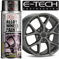 E-Tech PRO Alloy Wheel Refurbish & Customise Spray Paint - Dark Anthracite Grey