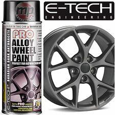 E-Tech PRO Alloy Wheel Refurbish & Customise Spray Paint - Dark Anthracite Grey